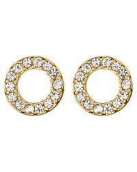 Dyrberg/Kern | Metallic Dyrberg/kern Koro Brass Earrings | Lyst