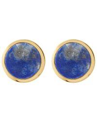 Dyrberg/Kern | Blue Dyrberg/kern Round Stud Earrings | Lyst