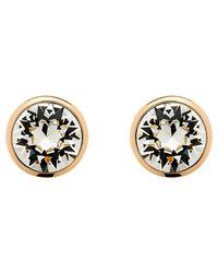 Melissa Odabash | Pink Swarovski Crystal Stud Earrings | Lyst