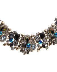 John Lewis - Multicolor Multi Stone Statement Collar Necklace - Lyst