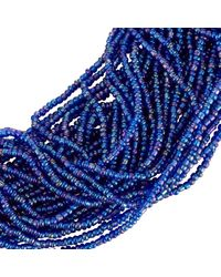 John Lewis - Blue Seed Bead Statement Layered Necklace - Lyst