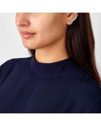 John Lewis | Metallic Baguette Ear Cuffs | Lyst