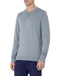 Reiss - Multicolor Wilde Crew Neck Sweatshirt for Men - Lyst