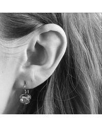Dyrberg/Kern - Metallic Dyrberg/kern Louise Crystal French Hook Drop Earrings - Lyst