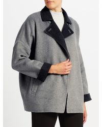 John Lewis - Gray Double Faced Jacket - Lyst