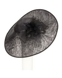 John Lewis - Black Lorrie Side Up Disc Occasion Hat - Lyst