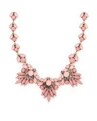 John Lewis - Multicolor Diamante Statement Necklace - Lyst