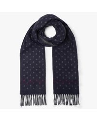69888fc4093d Ted Baker Redpine Spotted Scarf in Blue for Men - Lyst