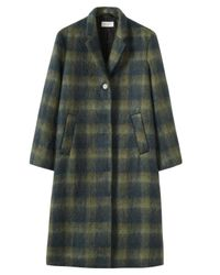 Toast | Green Brushed Mohair Coat | Lyst