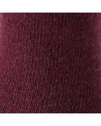 John Lewis | Purple Cashmere Blend Socks | Lyst
