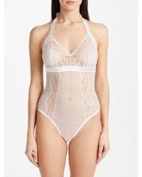 9087181c9754d0 Somerset by Alice Temperley Lea Bridal Lace Body in Natural - Lyst