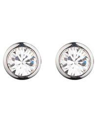 Dyrberg/Kern - Metallic Thelma Small Swarovski Crystal Stud Earrings - Lyst