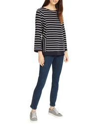 Phase Eight - Multicolor Calissa Cutabout Stripe Top - Lyst