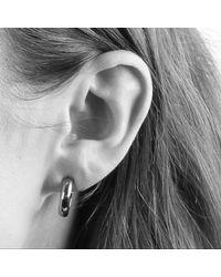 Dyrberg/Kern - Metallic Dyrberg/kern Small Hoop Earrings - Lyst