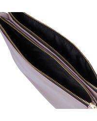 Kurt Geiger - Multicolor Pisces Leather Pouch Clutch Bag - Lyst