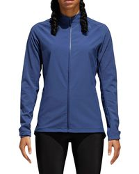 Adidas - Blue Supernova Storm Running Jacket - Lyst