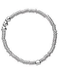 Links of London - Metallic Sweetie Sterling Silver Heart Xs Bracelet - Lyst