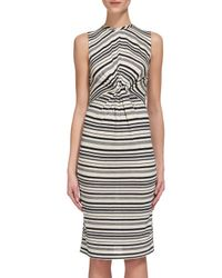 Whistles   Multicolor Carrie Stripe Jersey Dress   Lyst