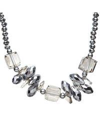 John Lewis - Metallic Long Single Strand Sparkle Bead Necklace - Lyst