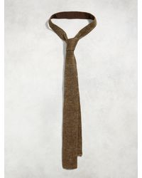 John Varvatos - Brown Classic Knit Tie for Men - Lyst