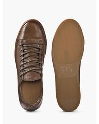 John Varvatos - Brown Reed Low Top Sneaker for Men - Lyst