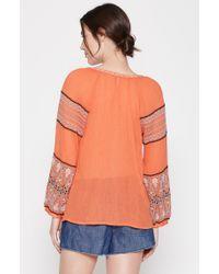 Joie - Orange Nelida Top - Lyst