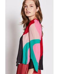 Joie - Multicolor Quinlynn Silk Top - Lyst