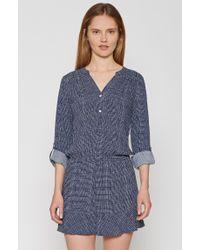 f044b46b3a788 Lyst - Joie Acey Longsleeve Dress in Blue
