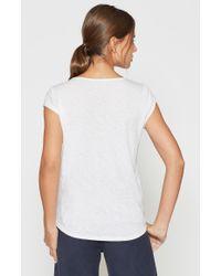 Joie White Damani T-shirt