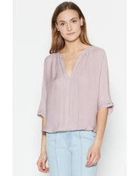 Joie | Multicolor Marru Silk Top | Lyst