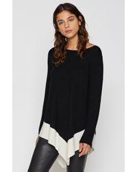 Joie - Black Tambrel M Wool Sweater - Lyst
