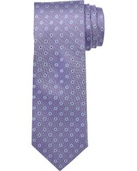 Jos. A. Bank - Purple Executive Collection Oxford Dot Tie Clearance for Men - Lyst