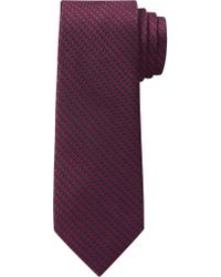 Jos. A. Bank - Purple 1905 Collection Houndstooth Check Tie for Men - Lyst
