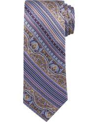 Jos. A. Bank - Purple Florentine Tie for Men - Lyst
