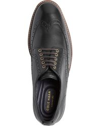 Jos. A. Bank - Black Cole Haan Watson Casual Wingtip Oxfords for Men - Lyst