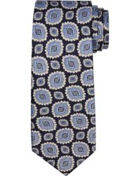 Jos. A. Bank - Blue Executive Collection Large Medallion Tie Clearance for Men - Lyst