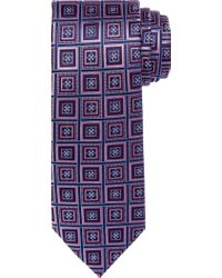 Jos. A. Bank - Pink Reserve Collection Medallion Geo Grid Tie for Men - Lyst