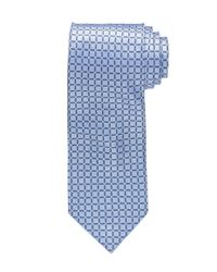 Jos. A. Bank - Blue Executive Grid Tie for Men - Lyst