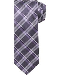 Jos. A. Bank - Purple Joseph Abboud Plaid Tie for Men - Lyst