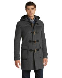Jos. A. Bank - Gray 1905 Collection Tailored Fit 3/4 Length Duffle Coat - Big & Tall for Men - Lyst