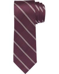 Jos. A. Bank - Purple Reserve Collection Windowpane Plaid Tie for Men - Lyst