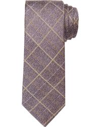 Jos. A. Bank - Brown Joseph Abboud Rustic Plaid Tie for Men - Lyst