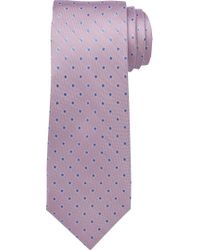 Jos. A. Bank - Pink Executive Collection Oxford Dot Tie Clearance for Men - Lyst