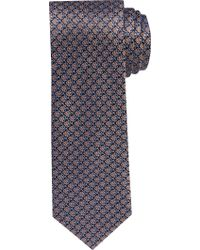 Jos. A. Bank - Orange 1905 Collection Geometric Clover Tie for Men - Lyst