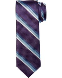 Jos. A. Bank - Purple 1905 Collection Stripe Tie Clearance for Men - Lyst