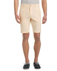 Jos. A. Bank - Yellow 1905 Collection Tailored Fit Oxford Shorts Clearance for Men - Lyst