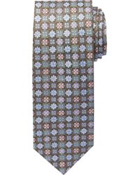Jos. A. Bank - Green Signature Gold Collection Flowers & Squares Tie Clearance for Men - Lyst