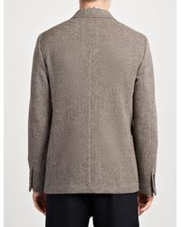Joseph - Gray Herringbone Seaton Jacket for Men - Lyst