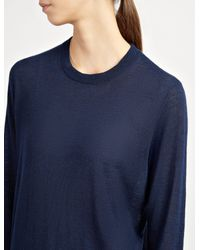 Joseph - Blue Cashair Sweater - Lyst