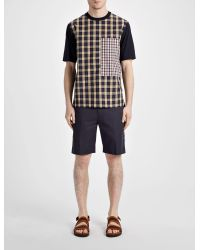 Joseph - Blue Light Cotton Jack Shorts for Men - Lyst